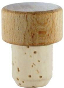 Holzgriffkork Scheibe natur 23mm