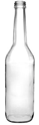 Weinbrandflasche 500ml - PP28 Schraubmündung