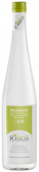 Brennerei Kessler Weingeist Primasprit Trinkalkohol 69,9%vol. 0,7Liter