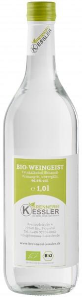 Brennerei Kessler BIO-Weingeist BIO-Primasprit BIO-Trinkalkohol 96,4%vol. 1000ml