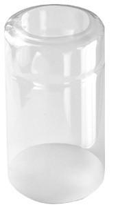Schrumpfkappe 21x30mm transparent