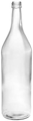 Weinbrandflasche 1000ml - PP31,5 Schraubmündung