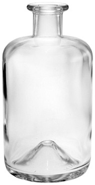 Apothekerflasche 500ml - 19mm Korkmündung
