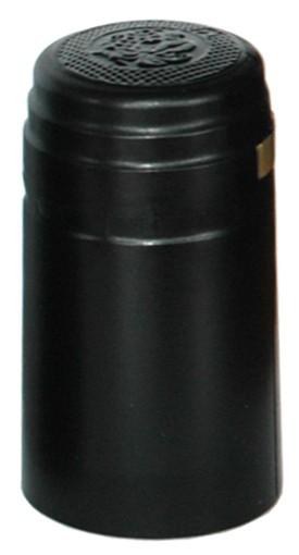 Schrumpfkappe 31x60mm schwarz