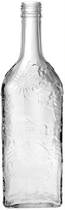 Schwarzwaldflasche 700ml - PP31,5 Schraubmündung