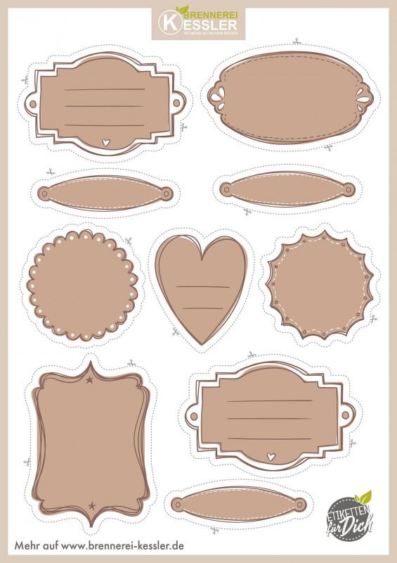 Fun Labels For Jars Favors Etc Printable