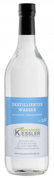 Brennerei Kessler - Destilliertes Wasser