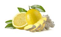 Ingwer-Zitronenlikör
