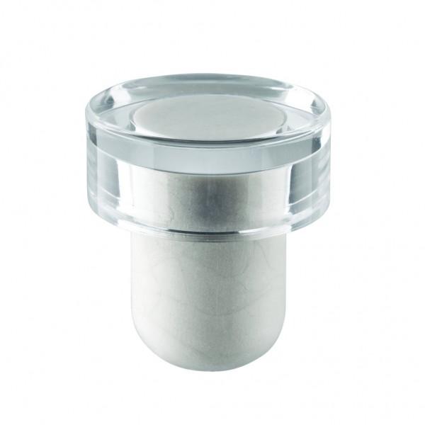 Flachgriffkork transparent 19mm