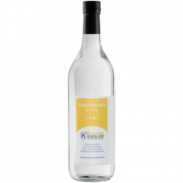 Brennerei Kessler - Ansatzkorn 80%vol. - 1000ml