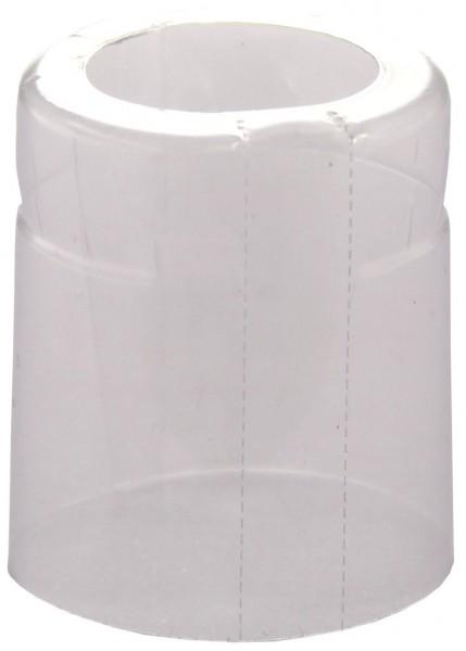 Schrumpfkappe 33x40mm transparent