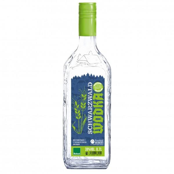 BIOLAND Schwarzwald Wodka 38%vol.